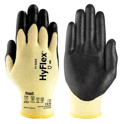 Broner Glove Amp Safety Nitrile Coated