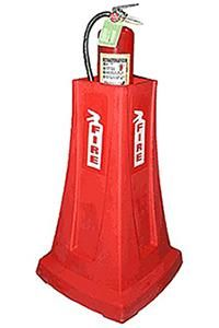 FIREMATE RED FIRE EXTINGUISHER STAND
