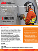 3M Construction Silica Competent Person Training